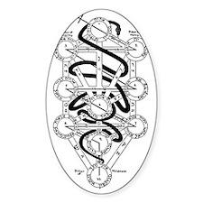 Serpent of Wisdom Decal
