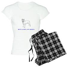 Bull Dog We're Lovers Pajamas