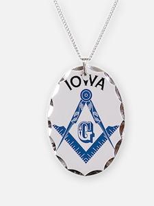 Iowa Freemason Necklace