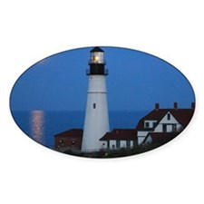 Super Moons Lighthouse View Decal