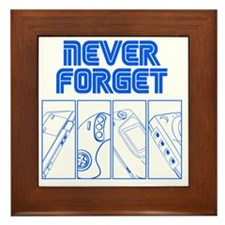 Never Forget Framed Tile
