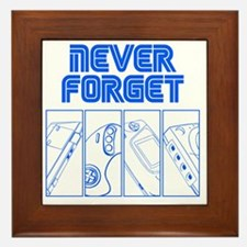 Never Forget Framed Tile