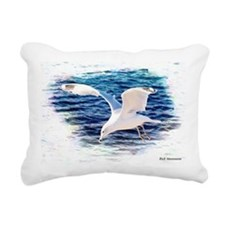 Seagull Rectangular Canvas Pillow