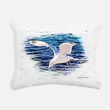 Seagull Rectangular Canvas Pillow