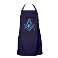 Illinois Freemason Apron (dark)