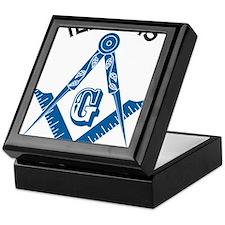 Illinois Freemason Keepsake Box