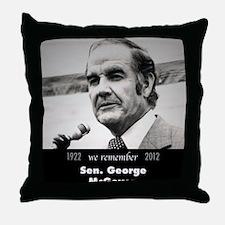 McGovern 1972 Throw Pillow