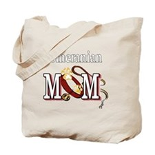 Pomeranian Mom Tote Bag