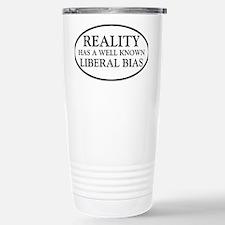 liberalbiasoval Travel Mug