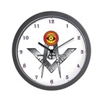 PHA Eye & S&C Masonic Wall Clock