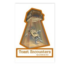 Toast Encounters Postcards (Package of 8)