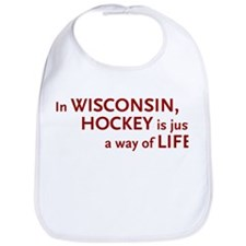 Wisconsin Hockey Bib