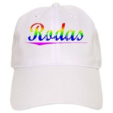 Rodas, Rainbow, Baseball Cap