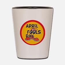 April Fools Day Beanie Boy Shot Glass