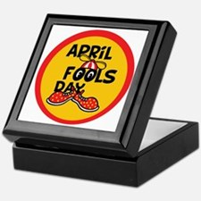 April Fools Day Beanie Boy Keepsake Box