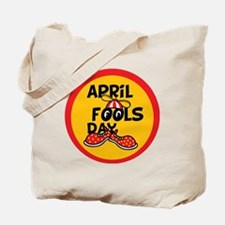 April Fools Day Beanie Boy Tote Bag
