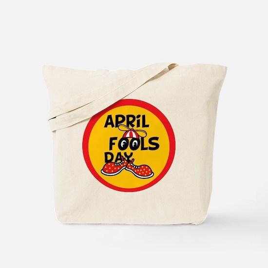 April Fools Day Beanie Boy Tote Bag