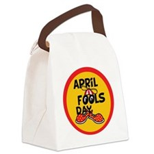 April Fools Day Beanie Boy Canvas Lunch Bag