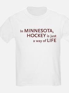 Minnesota Hockey Kids T-Shirt
