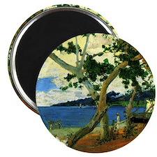 Paul Gauguin Beach Scene Magnet