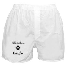 Beagle Talk Boxer Shorts