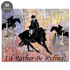 Id Rather Be Riding! Horse Puzzle