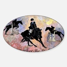 Id Rather Be Riding! Horse Decal