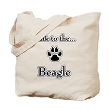 Beagle Talk Tote Bag