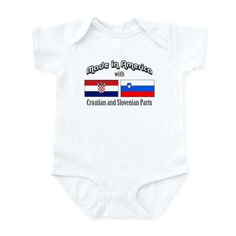 Croatian-Slovenian Infant Bodysuit