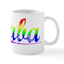 Saba, Rainbow, Mug