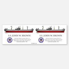 SS John W. Brown Bumper Bumper Sticker