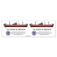 SS John W. Brown Bumper Sticker