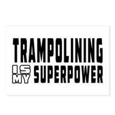 Trampolining Is My Superpower Postcards (Package o