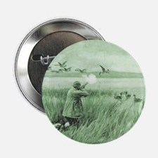 "Hunting Wild Geese 2.25"" Button"