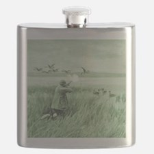 Hunting Wild Geese Flask
