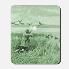 Hunting Wild Geese Mousepad