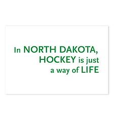 North Dakota Hockey Postcards (Package of 8)