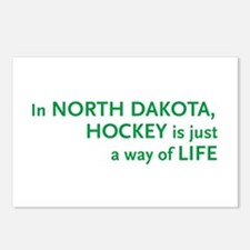 North Dakota Hockey Postcards (Package of 8)