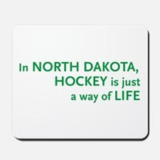 North Dakota Hockey Mousepad