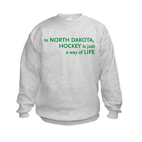 North Dakota Hockey Kids Sweatshirt