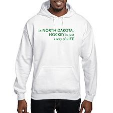 North Dakota Hockey Hoodie