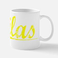 Silas, Yellow Small Small Mug