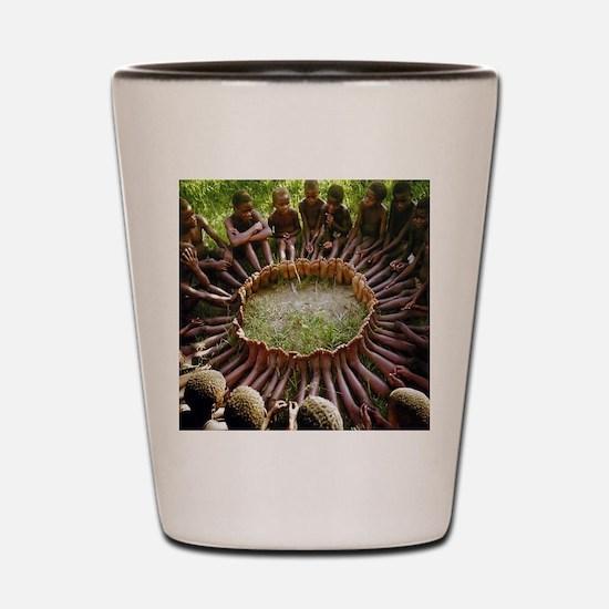 SF Ubuntu Shot Glass