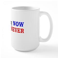Democracy NOW Plutocracy NEVER Mug