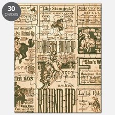 Vintage Rodeo Round-Up Puzzle