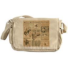Vintage Rodeo Round-Up Messenger Bag
