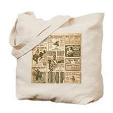 Vintage Rodeo Round-Up Tote Bag