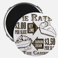 Pie Rates of the Caribbean Magnet