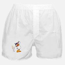 Golfing Duck Boxer Shorts