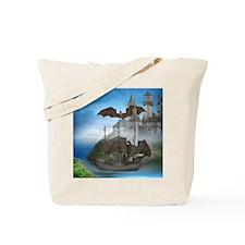 dc_round_magnet Tote Bag
